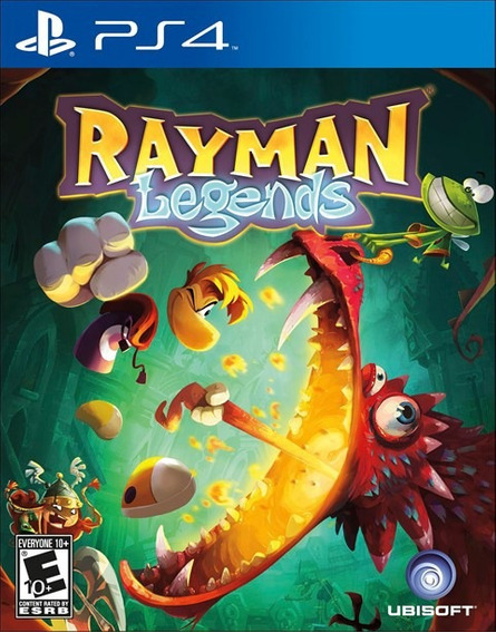 Rayman Legends - Ps4 - Mídia Física - Novo