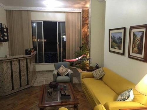 Imagem 1 de 25 de Apartamento Com 3 Dormitórios À Venda, 155 M² Por R$ 1.495.000,00 - Laranjeiras - Rio De Janeiro/rj - Ap5506