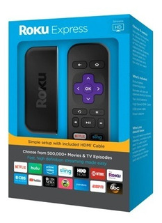 Roku Express 3900x Convierta Su Tv Led En Smart Tv Full Hd