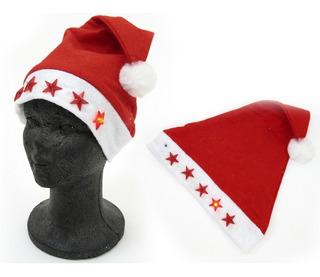 Gorro De Santa Claus O Papa Noel Con Luz Navidad