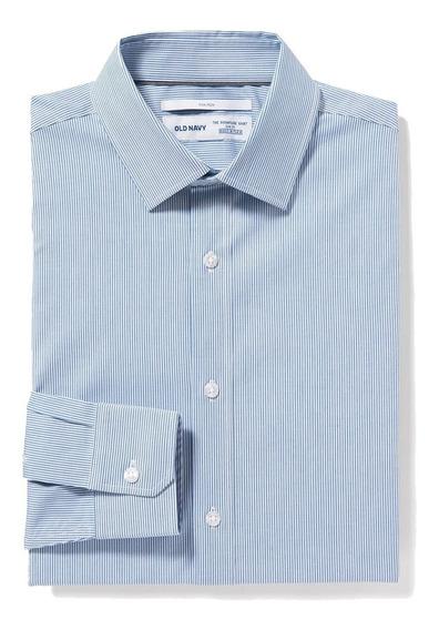 Camisa Hombre Casual Manga Larga Slim Fit 143232 Old Navy