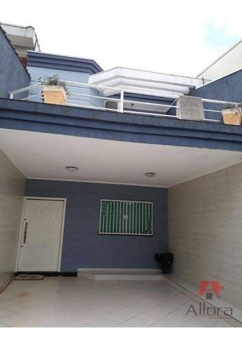 Imagem 1 de 25 de Sobrado Com 3 Dormitórios À Venda, 153 M² Por R$ 650.000,00 - Vila Lucinda - Santo André/sp - So0795