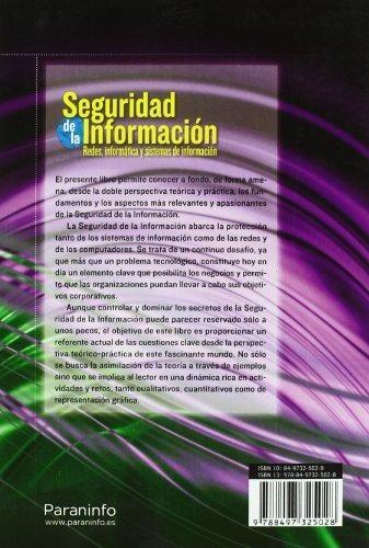 Seguridad De La Información. Redes, Informática Y Siste