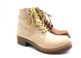 Borcegos Acordonados Zapatos Savage Eco Cuero Moda Bor 170