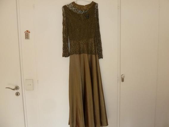 Vestido De Fiesta, Ideal Madrina, Importado, Exclusivo!!
