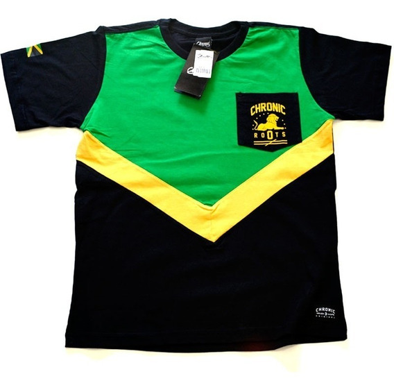 Camiseta Chronic Jamaican Bob Marley 13 Original