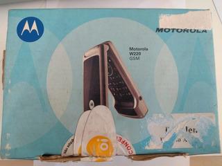 Celular Motorola W220 - Caixa, Fones E Manual - Peças