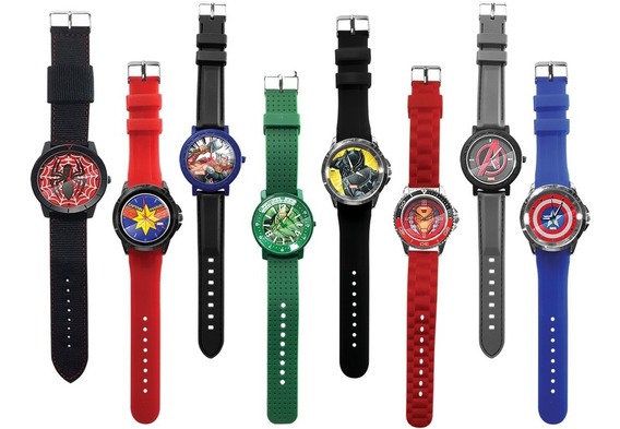 Clarín Colección Relojes Marvel