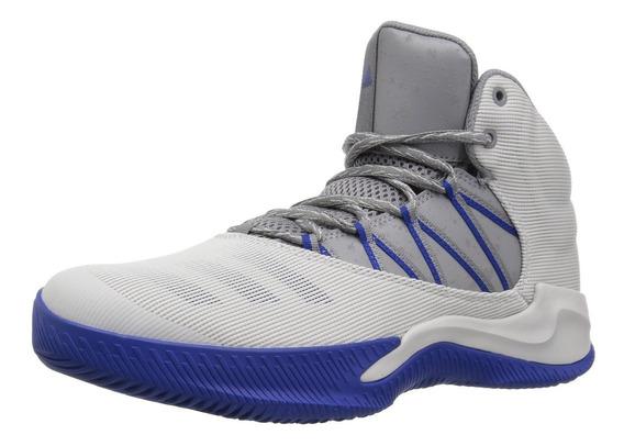 Tenis adidas Infiltrate Hombre Basquetbol Color Gris Azul