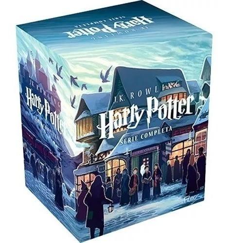 Livro Harry Potter Coleção Completa (box 7 Livros) Lacrado!o