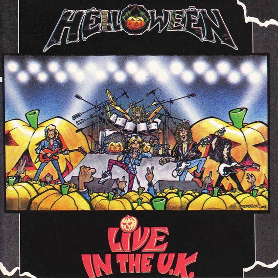 Helloween - Live In The U.k. - Cd Bootleg