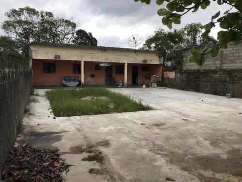 (ref: 4945) Casa Edicula - Itanhaém/sp - Palmeiras