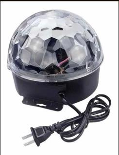 Media Esfera Bola Luces Led Audioritmica Dj . X 4 Unidades