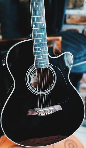 Guitarra Electroacústica Shelter Con Afinador