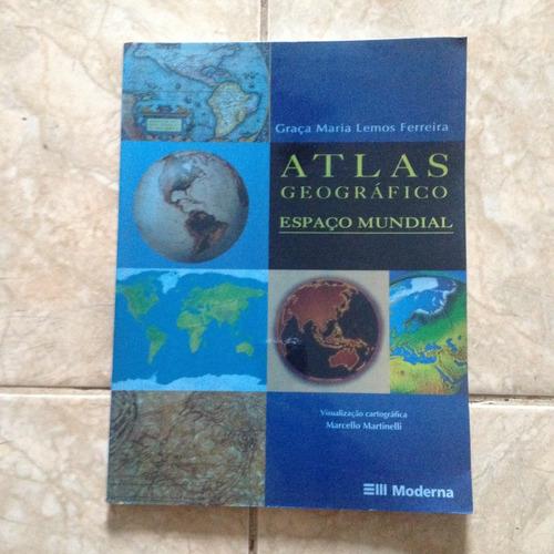 Livro Atlas Geográfico Espaço Mundial Graça Maria Lemos S2
