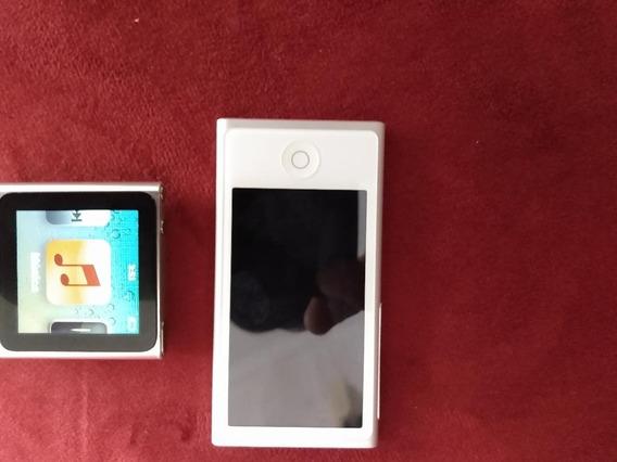 iPod Nano Prata 7 E Um Nano 6 Usado 02 Aparelhos