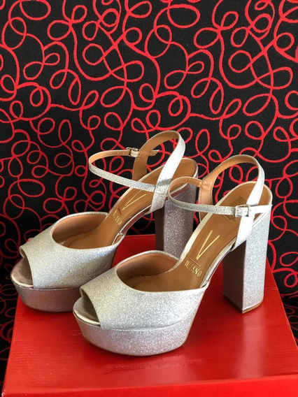 Zapatos Brillantes Vizzano Talle 38