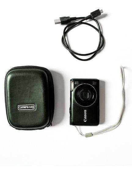 Canon Powershot A2200 Cor Preta - Tela Lcd