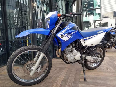 Yamaha Xtz Lander Azul 2013 Usada
