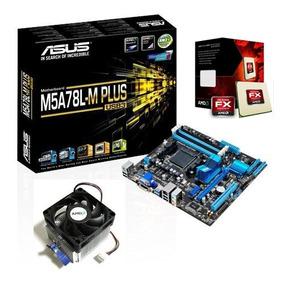 Kit Proc Amd Fx-8300 Box + Asus Am3+ M5a78l-m Plus Usb3