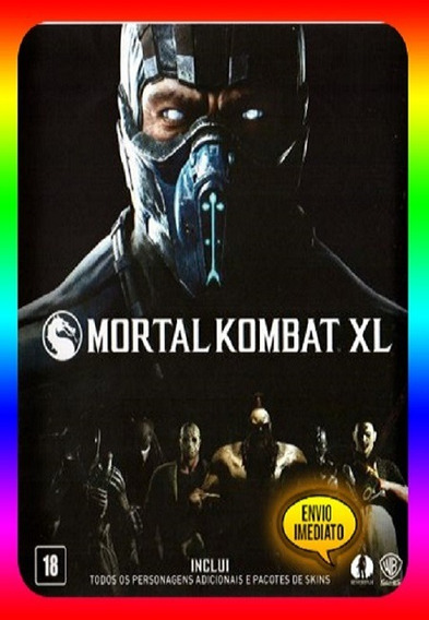 Mortal Kombat Xl Pc - 100% Original Steam Key (envio Já)