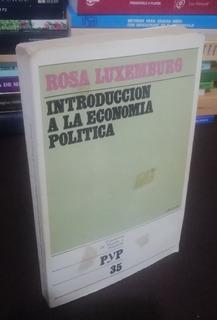 Introducción A La Economía Política - Luxemburg - 3a Ed