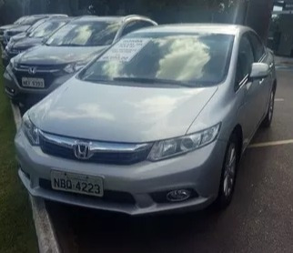Honda Civic 1.8 Lxl Flex Aut.