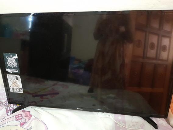 Tv Samsung 42 Usada, Funcionando Normalmente Tela Quebrada