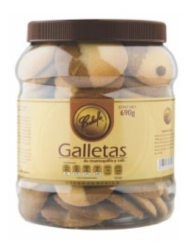 Imagen 1 de 1 de Galletas Clásicas Calufe De Mantequilla Y Café 690 Grs