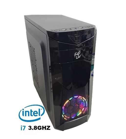 Pc Cpu Gamer Core I7 3770 3.9ghz 8gb Ssd 120g Gtx1050