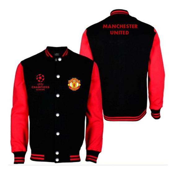 Chaqueta Universitaria Manchester United Uefa Champions