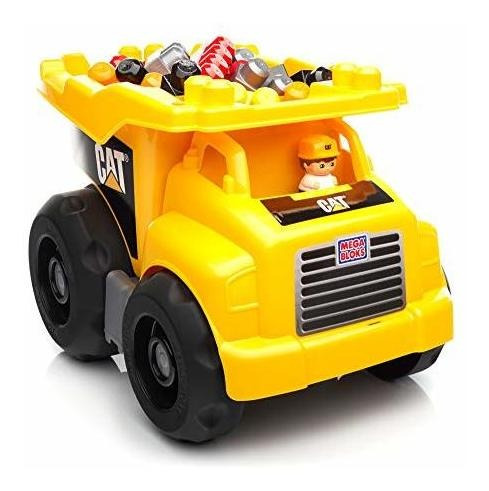 Camion Volquete Grande De Mega Bloks Caterpillar