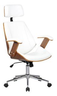 Cadeira Presidente Lisboa - Cor Branca