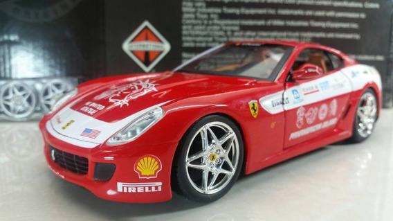 Ferrari 599 Gto Fiorano Maisto Carro Escala 1/24 23 Vdes