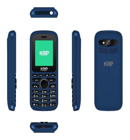 Teléfono Celular Básico Krip K1 Dual Sim 2g Camara Bluetooth