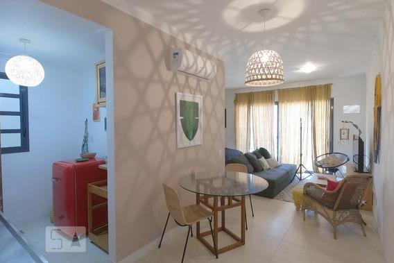 Apartamento No 1º Andar Mobiliado Com 1 Dormitório E 1 Garagem - Id: 892955171 - 255171