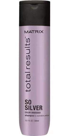 Shampoo Matizador Silver X300 Total Results Matrix