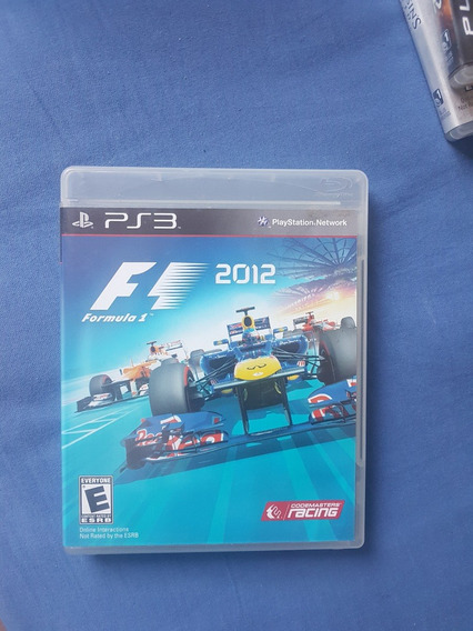 F1 2012 Formula 1 Playstation 3 Ps3 Mídia Física