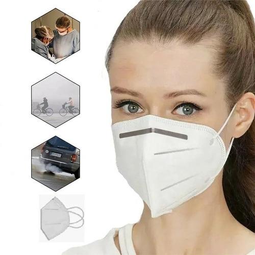 Imagem 1 de 5 de 05 Mascaras N95 Proteção Respiratória Pff2