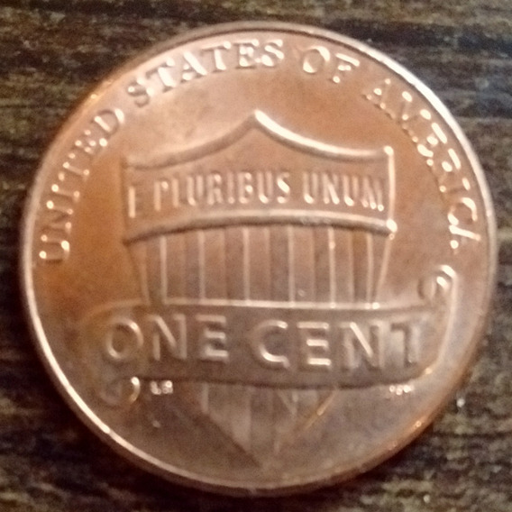 Moneda 1 Centavo Estados Unidos 2017 Excelente