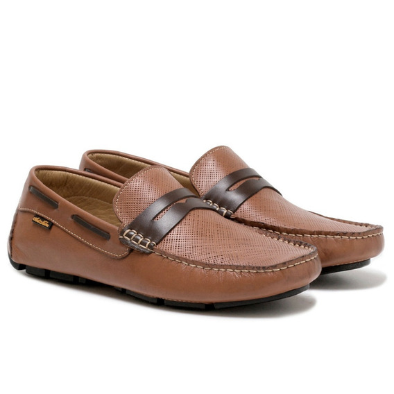 Sapato Mocassim Dockside Masculino Atron Shoes 3453