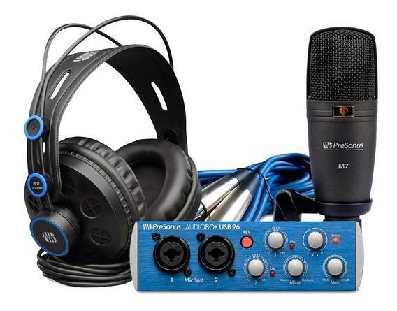 Interface De Audio Presonus Audiobox 96 Studio