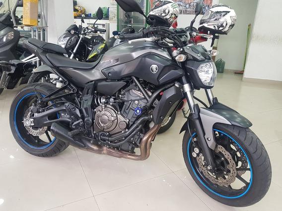 Yamaha Mt 07 2016 Cinza 18000 Km