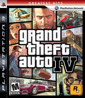 Grand Theft Auto Iv Ps3 Digital Gcp
