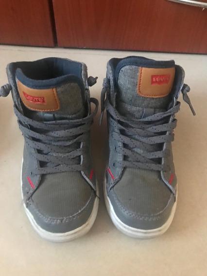 Zapatos Levis Niño Talla 34 Casi Nuevos