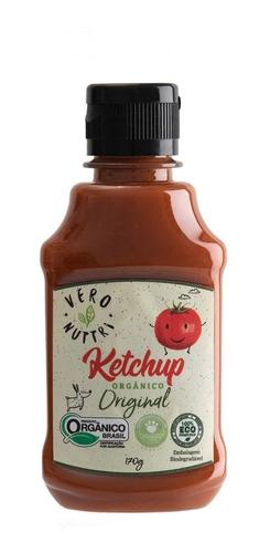 Imagem 1 de 3 de Ketchup Vero Nuttri Original Orgânico 170g