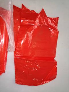 Bolsa Roja Para Queso Termoflex Termoencogible Importada