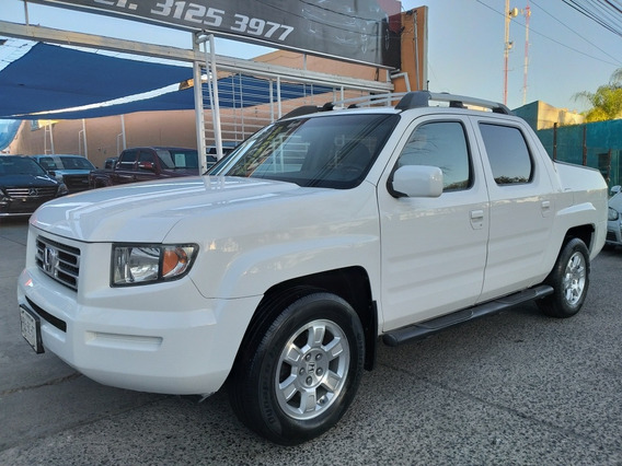 Honda Ridgeline Rtl 4x4 At 2008,un Dueño,factura Original,cr
