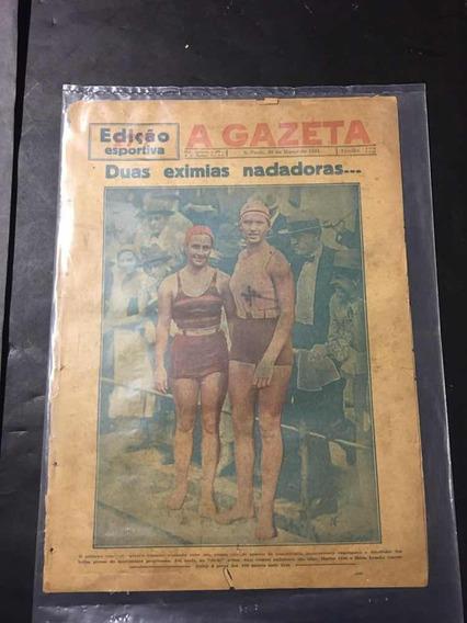 Gazeta Esportiva N°177- 30/03/1931 [ Maria Lenk ]