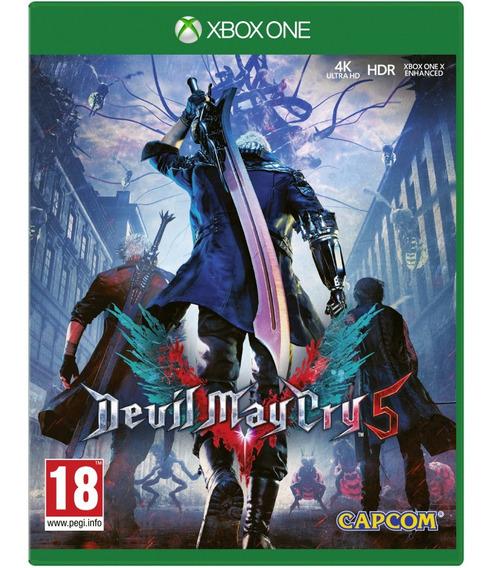 Jogo Devil May Cry 5 Dmc5 Xbox One Disco Fisico Cd Original Novo Lacrado Nacional Promoção